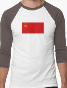 Flag of the Soviet Union Men's Baseball ¾ T-Shirt