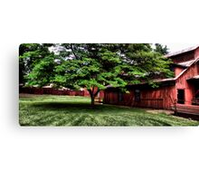 Rural Red Canvas Print