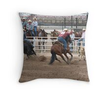 CFD Tie Down Throw Pillow