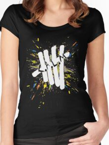 5 Seconds of Summer - C.A.L.M Women's Fitted Scoop T-Shirt