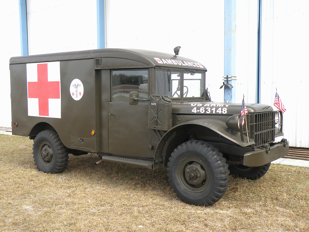 Dodge Ambulance by Edward Denyer