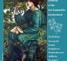 Pre Raphaelites Calendar Cover by Greenbaby