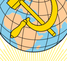 Emblem of the Soviet Union  Sticker
