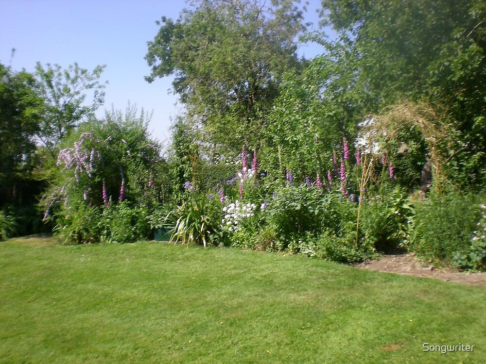 Serene Country Garden by Songwriter