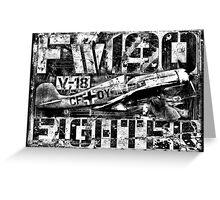 Fw 190 Greeting Card