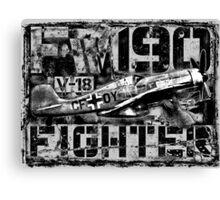 Fw 190 Canvas Print