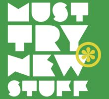 must try new stuff Baby Tee