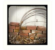 "Behind the Shed - ""faux"" TTV Art Print"