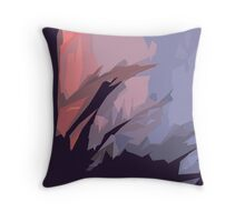 Enter Into The Forest Abstract Throw Pillow