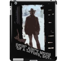 The Outlaw Josey Wales iPad Case/Skin