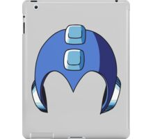 Mega Man Helmet iPad Case/Skin