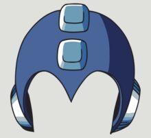 Mega Man Helmet by MillsLayne