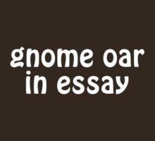 gnome oar in essay by WhyIsThisOpen