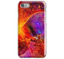 Birth of a wish - digital abstract art iPhone Case/Skin