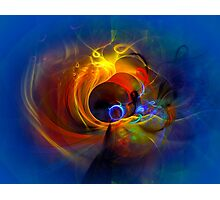 Black Hole - digital abstract art Photographic Print