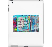 forever and a day iPad Case/Skin