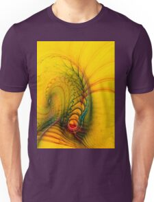 Bridge to reality - digital abstract art Unisex T-Shirt
