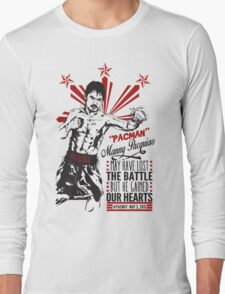 Pacquiao KOs Mayweather Long Sleeve T-Shirt