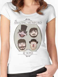 The Amazing Mumford and Sons Women's Fitted Scoop T-Shirt