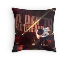 Jeremy Mckinnon - A Day To Remember Throw Pillow