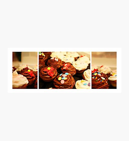 Someone asked for Cupcakes Photographic Print