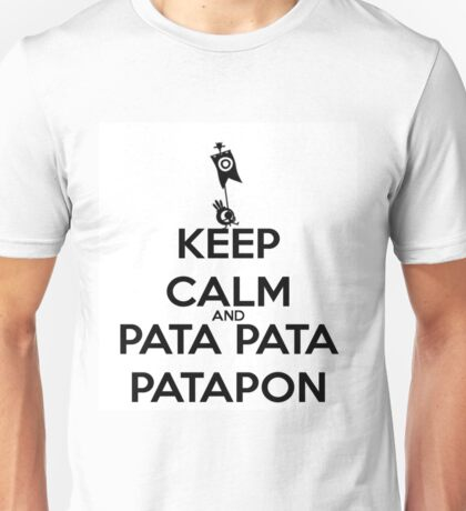Keep calm and Patapon Unisex T-Shirt