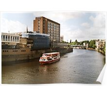 River Ouse at York 2 Poster