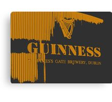 { guinness beer brewery in dublin, ireland } Canvas Print
