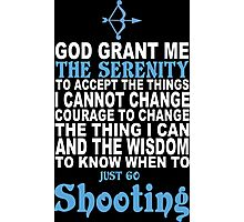 Limited Edition Funny Shooting Tshirts Photographic Print