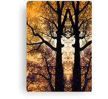 Tree Tracery Canvas Print