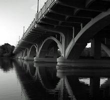 Under the bridge by Angela King-Jones