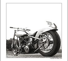 """Harley-Davidson Shovelhead Hardtail, Side B"" by Don Bailey"