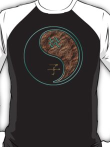 Aquarius & Rat Yang Earth T-Shirt