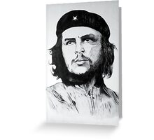 Che Guevara Sketch Greeting Card