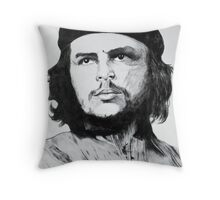 Che Guevara Sketch Throw Pillow
