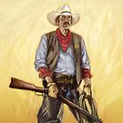 Cowboy by Jim rownd