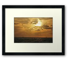 A Flame in the Sky Framed Print