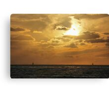 A Flame in the Sky Canvas Print