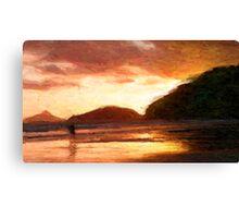 Baleia Beach - Sp/ Brasil Canvas Print