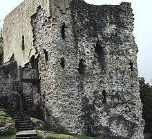 The Castle Remains by Franco De Luca Calce