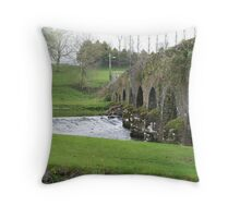 Cork Bridge Throw Pillow
