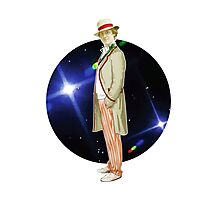 The 5th Doctor - Peter Davison Photographic Print
