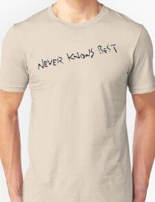 Never Knows Best - FLCL Unisex T-Shirt
