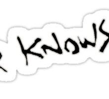 Never Knows Best - FLCL Sticker