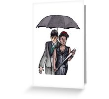 Gotham: Fish Mooney and The Penguin Greeting Card