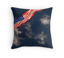 Flag III Throw Pillow