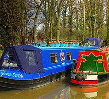 Narrowboat Heaven Sent - Ashby Canal by SimplyScene