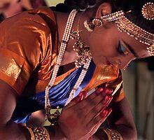 Namaste by Iswarya by richardseah