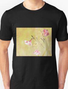 Alstroemeria textured Unisex T-Shirt