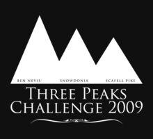 Three peaks black and white by sambo999